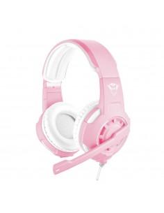 Audifono Gamer Trust GXT 310P Radius, Pink, Micrófono ajustable